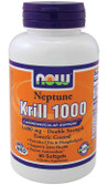 Krill Oil Neptune 1000 mg Double Strength 60 Softgels Now Foods