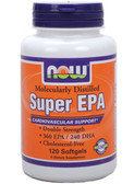 Now Foods Super  EPA 120 Softgels, Cardiovascular