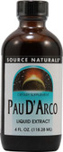 Pau DArco Liquid Extract 4 oz, Source Naturals