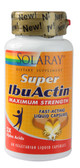 Super IbuActin Maximum Strength 60 VCaps, Solaray