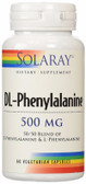 DL-Phenylalanine 500 mg 60 VCaps, Solaray