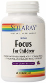 Focus for Children Grape 60 Chews Solaray