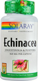 Echinacea 460 mg 100 Easy to Swallow Caps, Solaray