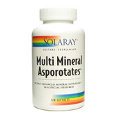 Multi Mineral Asporotates 120 Caps, Solaray