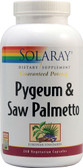 Pygeum & Saw Palmetto 240 VCaps, Solaray