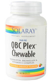 QBC Plex Chews No Sugar Natural Orange 90 Chews, Solaray
