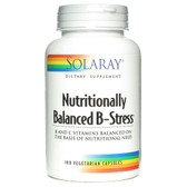 Nutritionally Balanced B-Stress 100 VCaps, Solaray