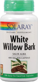 White Willow Bark 400 mg 100 Caps, Solaray