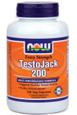 Testojack 200 Now Foods 120 vCaps, Libido, Sexual Drive, Virility