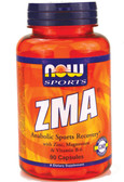 Now Foods ZMA 800 mg 90 Caps, Sports Recovery