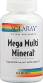 Mega Multi Mineral w/Iron 200 Caps, Solaray