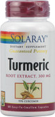 Turmeric Root Extract 300 mg 60 Caps, Solaray