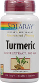 Turmeric Root Extract 300 mg 120 Caps, Solaray