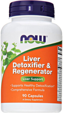 Liver Detox and Regenerator 90 Caps Now Foods