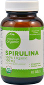 Organic Spirulina 500 mg 100 Tabs, Simple Truth