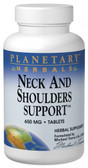 Neck & Shoulder Support 650 mg 60 Tabs, Planetary Herbals