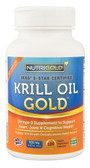 Krill Oil Gold 500 mg 120 Liquid VCaps, NutriGold