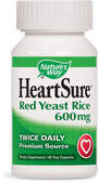 HeartSure Red Yeast Rice 60 Vcaps, Nature's Way
