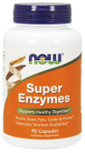 Super Enzyme 90 Caps Now Foods, Digestive Support