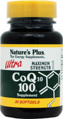Ultra CoQ10 100 mg 30 sGels, Nature's Plus