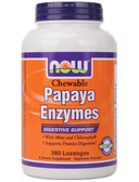 Now Foods Papaya Enzyme Chewable 360 Tabs, Digestion