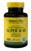 Super B-50 Balanced B Complex 90 VCaps, Nature's Plus