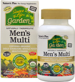 Source of Life Garden Men's Multi 90 Vegan Tabs, Nature's Plus