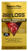 AgeLoss Blood Pressure Support 90 Tabs, Nature's Plus