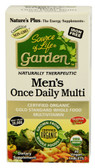 Source of Life Garden Men's Once Daily Multi 30 Vegan Tabs, Nature's Plus