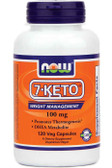 7-Keto 100 mg 120 vCaps, Now Foods, DHEA Metabolite, Anti-Aging