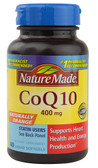 CoQ10 Naturally Orange 400 mg 40 Liquid sGels, Nature Made