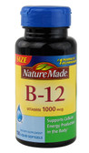 B-12 Vitamin 1000 mcg 150 Liquid sGels, Nature Made