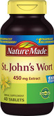 St. John's Wort 450 mg 40 Tabs, Nature Made