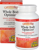 CurcminRich Whole Body Optimizer 60 sGels, Natural Factors