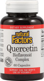 Quercetin Bioflavonoid Complex 60 Caps, Natural Factors
