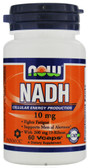 Now Foods NADH 10 mg 60 Caps, Fights Fatigue