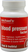 Blood Pressure Factors 60 Veggie Tabs, Michael's Naturopathic Programs