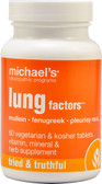 Lung Factors 60 Veggie Tabs, Michael's Naturopathic Programs