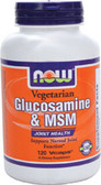 Vegetarian Glucosamine & MSM, 120 vCaps, Now Foods, Joints