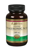 Natural Hyaluronic Acid 140 mg 30 Caps, Lifetime
