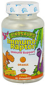 Kal Dinosaurs ImmunoRaptor Orange 60 Chews, KAL