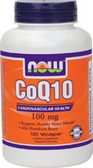 CoQ10 100 mg  180 vCaps, Now Foods