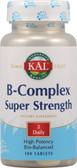 B-Complex Super Strength 100 Tabs, KAL