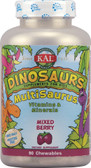 Kal Dinosaurs MultiSaurus Mixed Berry 90 Chews, KAL