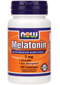 Now Foods Melatonin 3mg 180 loz, Sleep