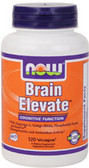 Brain Elevate Formula 120 vCaps, Now Foods, Memory