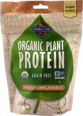 Organic Plant Protein Smooth Unflavored 10 Servings, Garden of Life