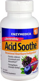 Acid Soothe Berry 60 Chews, Enzymedica