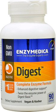 Digest Complete Enzyme Formula 90 Caps, Enzymedica