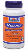 Relora 300 mg 60 vCaps, Now Foods, Energy